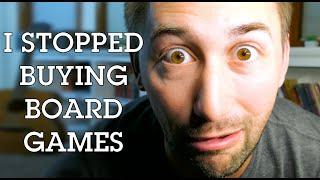 I Stopped Buying Board Games