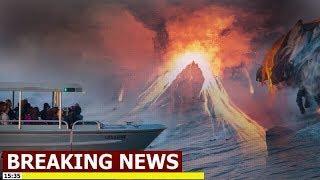 News Alert - Hawaii's Kilauea Volcano Updates On Damaged Lava Tour Boat (TTM)