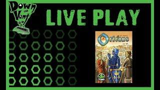 Orleans Board Game Live Play Through