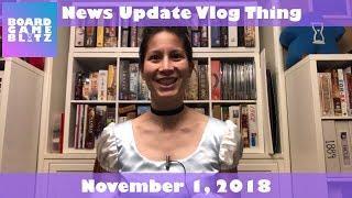 News Update Vlog Thing - November 1, 2018