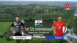 New Zealand vs England 1st T20 Full Match Highlights 2019