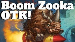 7 King Krush on Board at Once! Flark's Boom Zooka OTK! [Hearthstone Game of the Day]
