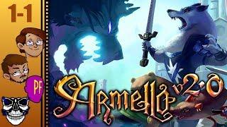 Let's Play Armello 2.0 Game 1 Part 1 - Learning It the Hard Way