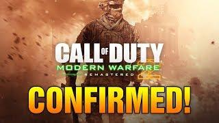MODERN WARFARE 2 REMASTERED CONFIRMED! - PEGI Video Game Rating Board Confirms MW2 Remastered!