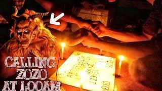 | CALLING ZOZO BY OUIJA BOARD - AT 1:00AM -CALLING DEVIL ZOZO AT 1:00AM  |