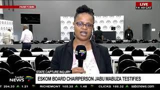 State Capture Inquiry | Eskom board chairperson Jabu Mabuza testifies