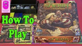 Sheriff of Nottingham, How to play (In English, board games, tabletop games, party game)
