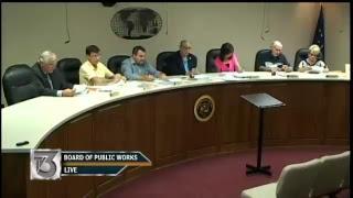 Board of Public Works - July 16, 2018