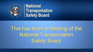 NTSB Board Meeting to Determine Cause of Fatal, Concan, Texas, Bus Crash