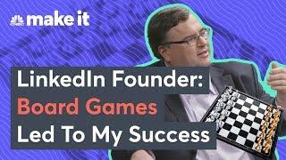 Reid Hoffman: Board Games Led To My Success