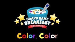 Board Game Breakfast - Color, Color
