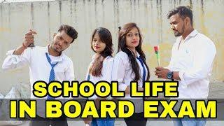 School Life in Board Exams | Desi Student VS Teacher | Girl VS Boys In School Life| FT. Desi Sarcasm