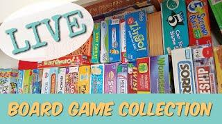 LIVE Our Board Game Collection