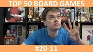 My Top 50 Board Games | Part 4: #20-11 | slickerdrips