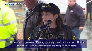 VIDEO NOW: NTSB News Conference on New Bedford deadly plane crash