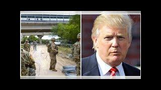 U.S. Troops Quietly Deploy Deadly New Defensive Measure At Border… Trump's All In