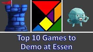Top 10 Games to Demo at Essen Spiel 2018