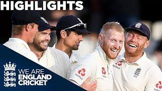 Buttler & Stokes Shine on Day Two | England v India 5th Test Day 2 2018 - Highlights