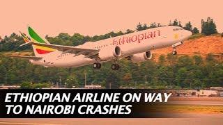 Ethiopian airlines plane with 157 on board including Indians crash, reportedly all dead! | NewsMo
