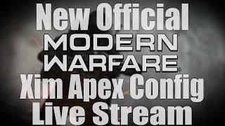 NEW Official Call Of Duty Xim Apex Config Live Stream