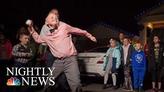 9-Year-Old Boy Convinces Colorado Town To Overturn Snowball Fight Ban | NBC Nightly News