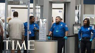 A Passenger Got A Gun On Board An Airplane, TSA Says it Wasn't Because Of The Shutdown | TIME