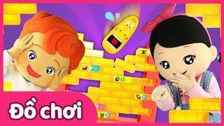 Trò chơi board game đâm thủng bức tường Lava vô cùng hồi hộp | Đồ chơi |Trò chơi board game
