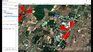How to Draw Route or Border using Google earth | Drawing Route in Google Earth