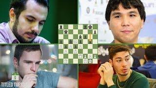 September Titled Tuesday Blitz Chess Tournament: Wesley So Shows Down