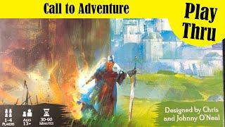Call to Adventure board game - Solo Play Thru