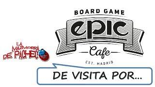 Epic Board Game Cafe: Nos vamos de visita