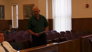 Lewis County Board of Legislators September 4, 2018 Meeting Video
