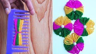 Hand Embroidery Amazing Trick# Sewing Hack# Easy Hand Embroidery Trick