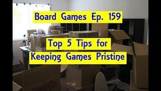 Top 5 Tips For Keeping Board Games Pristine