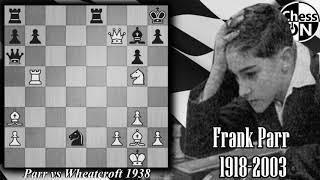 Best Chess Games Ever! Parr vs Wheatcroft 1938