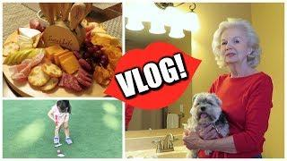 VLOG | Snooping in My Mom's Makeup & Budget Cheese Board