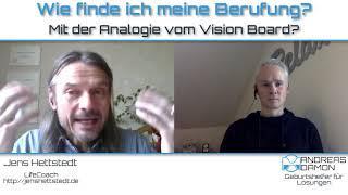 Wie finde ich meine Berufung  – Mit dem Vision Board  Live Coaching Andreas Dämon - SEIN Soltions