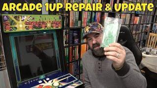 Arcade 1up Board & Trackball Repair Update