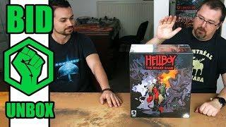 Hellboy Board Game unboxing