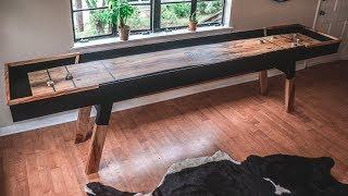 Making a Live-Edge Shuffle Board Table!