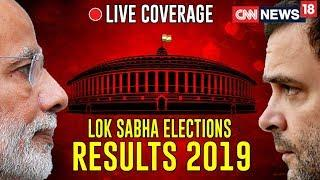 CNN News18 LIVE TV | Lok Sabha Elections Results 2019 LIVE | BJP's Lotus Prepares To Bloom