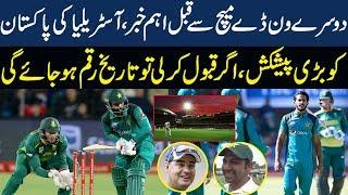 Pak Vs Sa 2nd ODI 2019 || Australian Cricket board announced Good News For pakistan Cricket Fans