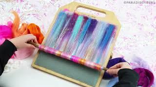 Blending Board ASMR | DIY Rolag to Yarn