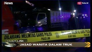 Wanita Muda Ditemukan Tewas di Dalam Truk di SPBU - Police Line 01/05