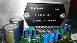 STK4141 Audio Amplifier Board | Full wiring | How to make an amplifier | Amplifier Connection