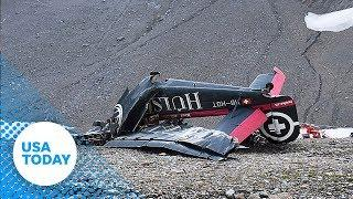 Vintage propeller plane crashes in Swiss mountain, killing all on board