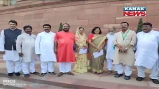 Odisha BJP New Elected Leader Attend NDA Parliamentary Board meeting