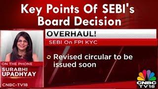 Key Points Of SEBI's Board Decision: Accepts Most Of Khan Panel's Proposals | CNBC-TV18