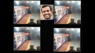 Caught on cam: IBM techie tries to board running train, crushed under it