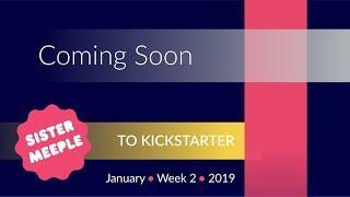 Board Games Coming Soon to Kickstarter - January Week 2 2019